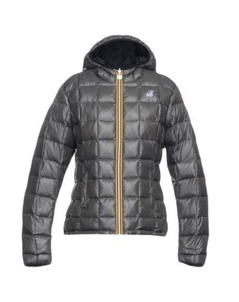 K-WAY COATS & JACKETS Down jackets Women on YOOX.COM