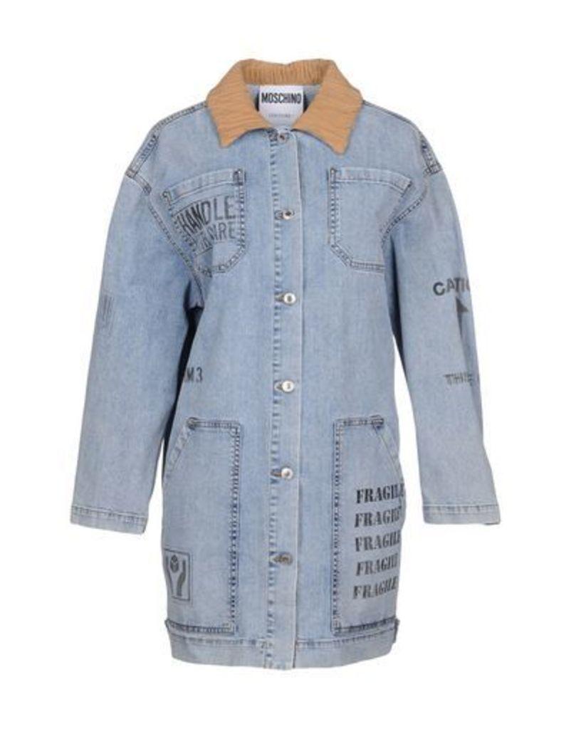 MOSCHINO DENIM Denim outerwear Women on YOOX.COM