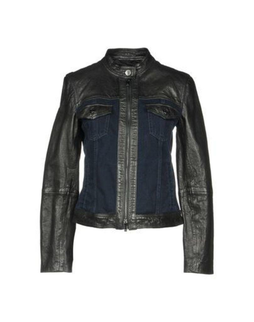 ARMANI JEANS DENIM Denim outerwear Women on YOOX.COM