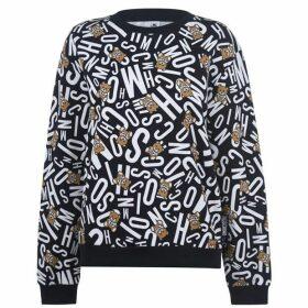 Moschino Underwear Bear Print Underwear Sweatshirt