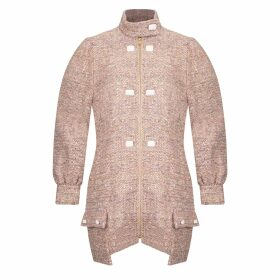 MUZA - Satin Sleeveless Knee-Length Dress