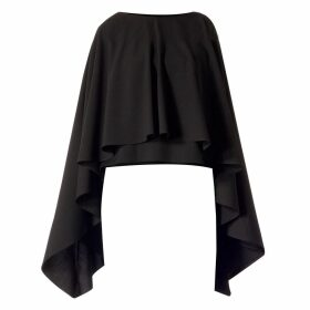 Meem Label - Ciel Black Cape Top