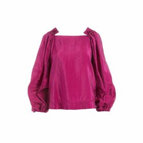 WtR - Aleko Pink Beaded Blouse