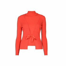 Rumour London - Erika and Erin Coral Two-Piece Merino Wool Set