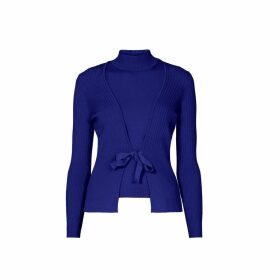 Rumour London - Erika and Erin Indigo Two-Piece Merino Wool Set