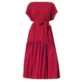 Rumour London - Monaco Striped Cotton Sweater With Metal Eyelets In Cream