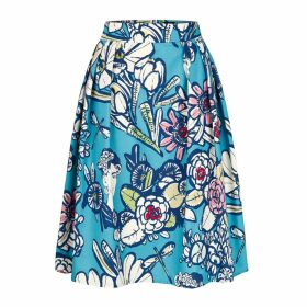 Marianna Déri - Skirt Hanna Frida Blue