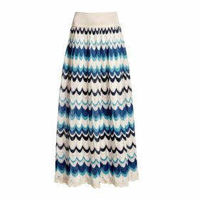 Rumour London - Tahiti Wavy Striped Maxi Skirt