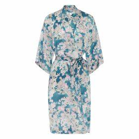 Genevie - Elora Silk Kimono Robe