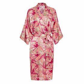 Genevie - Rose Lily Kimono Robe