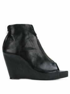 Isaac Sellam Experience open toe boots - Black