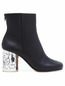 Maison Margiela shattered glass heel ankle boots - Black