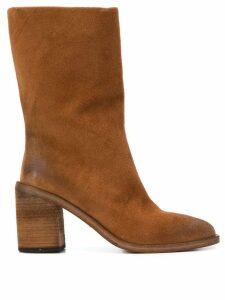 Marsèll block heel boot - Brown
