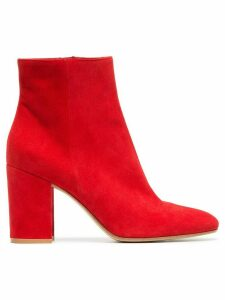 Gianvito Rossi Margaux 85mm ankle boots - Red