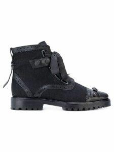 Rue St Santiago ankle boots - Black