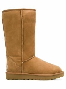Ugg Australia fur-lined snow boots - Brown