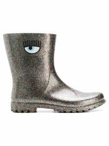 Chiara Ferragni glitter rain boots - Metallic