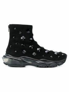 Valentino Valentino Garavani embellished ankle boots - Black