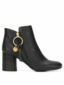 See By Chloé Louise ankle boots - Black