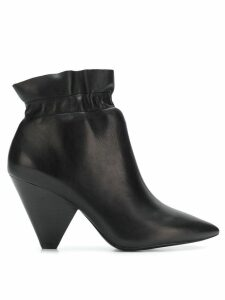 Ash elasticated ankle boots - Black