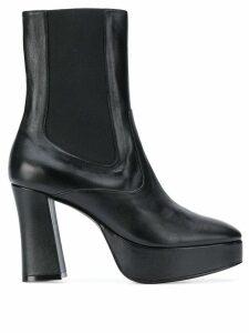 Nicole Saldaña Sam chunky-heel boots - Black