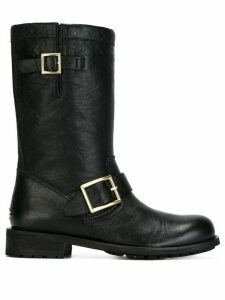 Jimmy Choo 'Biker' boots - Black
