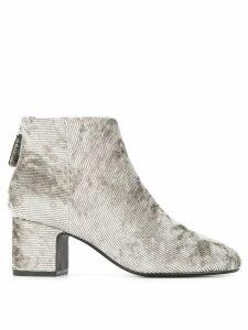 Senso Nyra corduroy boots - Metallic