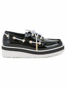 Pierre Hardy Marina boat shoe loafers - Black