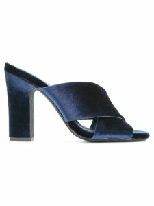 Senso Poppy mules - Blue