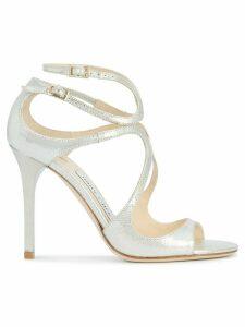 Jimmy Choo Lang sandals - Metallic