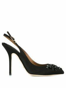 Dolce & Gabbana embellished slingback pumps - Black