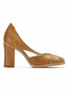 Sarah Chofakian leather pumps - Brown