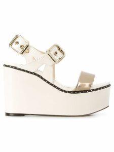 Jimmy Choo Alton 100 sandals - White