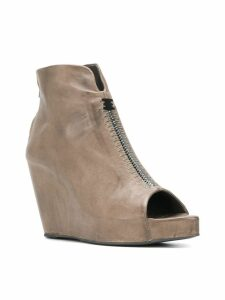 Isaac Sellam Experience open toe wedges - Grey