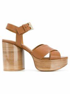 Clergerie Vianne sandals - Brown