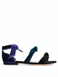 Alexandre Birman open-toe bow sandals - Black