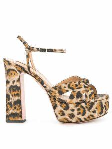 Aquazzura Baba Plateau sandals - Brown