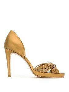 Sarah Chofakian leather sandals - Yellow