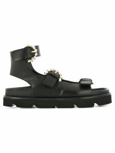 Mulberry buckled sandals - Black