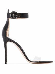 Gianvito Rossi Portofino 105mm sandals - Black