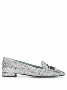 Chiara Ferragni Flirting ballerina shoes - Metallic