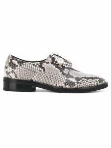 Coliac Sally snake-print derby shoes - Grey