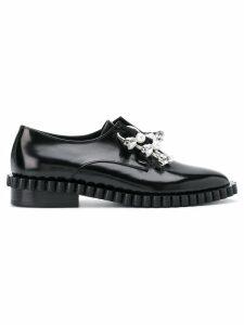 Coliac Cake embellished derby shoes - Black