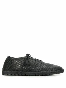 Marsèll cutout lace-up shoes - Black