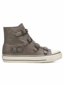 Ash Virgin buckled hi-top sneakers - Grey