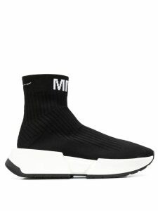 Mm6 Maison Margiela sock sneakers - Black