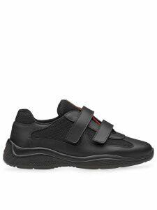 Prada touch-strap sneakers - Black