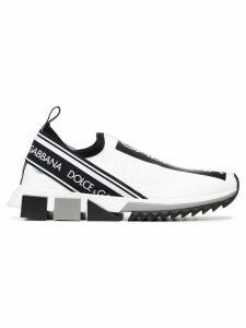 Dolce & Gabbana logo print sneakers - White