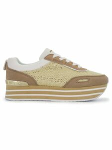 Versace Jeans Couture platform runner sneakers - Brown
