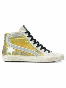 Golden Goose Slide sneakers - Metallic